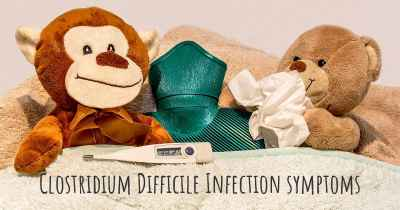 Clostridium Difficile Infection symptoms