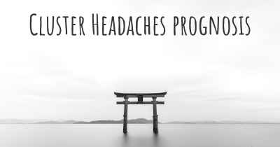 Cluster Headaches prognosis