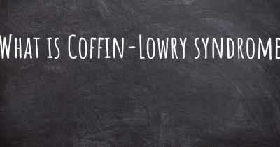 What is Coffin-Lowry syndrome