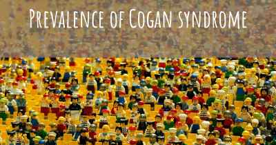 Prevalence of Cogan syndrome