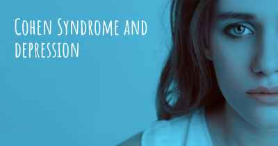 Cohen Syndrome and depression