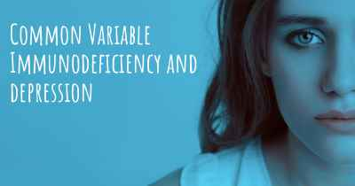 Common Variable Immunodeficiency and depression