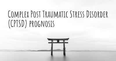 Complex Post Traumatic Stress Disorder (CPTSD) prognosis