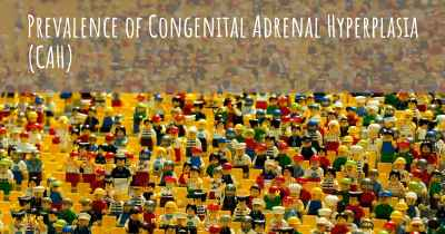 Prevalence of Congenital Adrenal Hyperplasia (CAH)