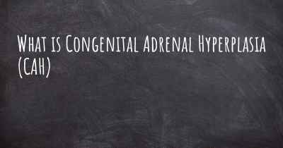 What is Congenital Adrenal Hyperplasia (CAH)