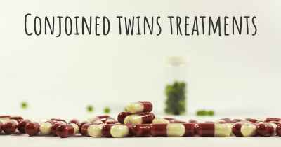 Conjoined twins treatments