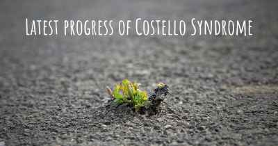 Latest progress of Costello Syndrome