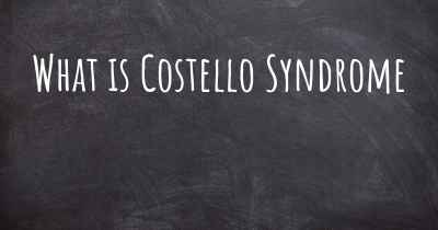 What is Costello Syndrome