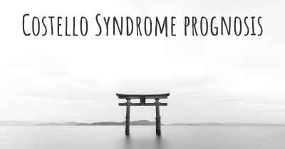 Costello Syndrome prognosis
