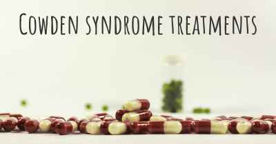 Cowden syndrome treatments
