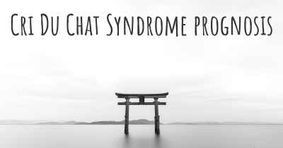 Cri Du Chat Syndrome prognosis