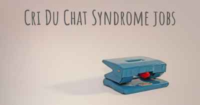 Cri Du Chat Syndrome jobs