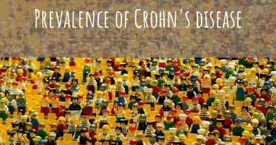 Prevalence of Crohn's disease