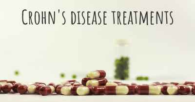 Crohn's disease treatments