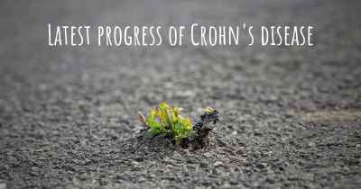 Latest progress of Crohn's disease