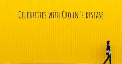 Celebrities with Crohn's disease