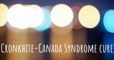 Cronkhite-Canada Syndrome cure