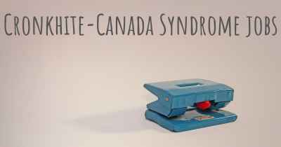 Cronkhite-Canada Syndrome jobs