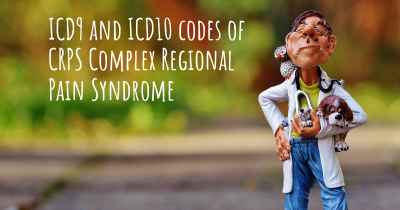 ICD9 and ICD10 codes of CRPS Complex Regional Pain Syndrome