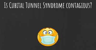 Is Cubital Tunnel Syndrome contagious?