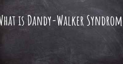 What is Dandy-Walker Syndrome