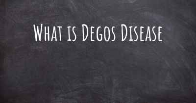 What is Degos Disease