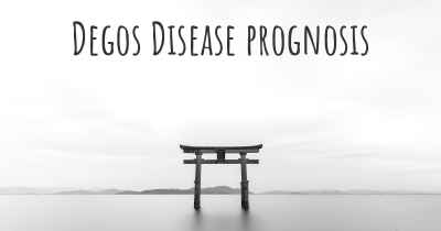 Degos Disease prognosis