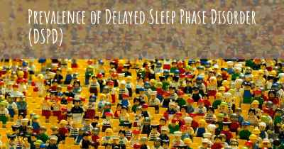Prevalence of Delayed Sleep Phase Disorder (DSPD)