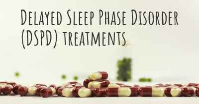 Delayed Sleep Phase Disorder (DSPD) treatments