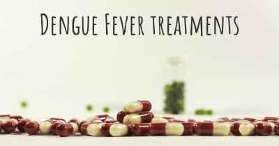 Dengue Fever treatments