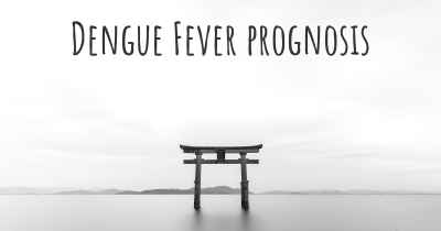 Dengue Fever prognosis