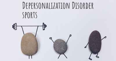 Depersonalization Disorder sports
