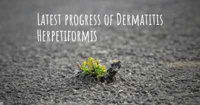 Latest progress of Dermatitis Herpetiformis