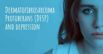 Dermatofibrosarcoma Protuberans (DFSP) and depression