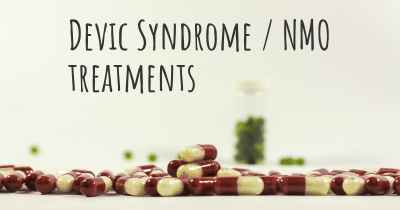Devic Syndrome / NMO treatments