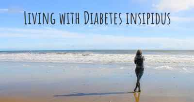 Living with Diabetes insipidus