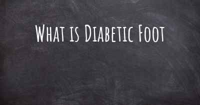 What is Diabetic Foot