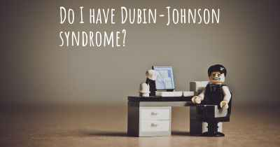 Do I have Dubin-Johnson syndrome?