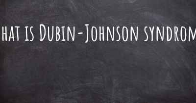 What is Dubin-Johnson syndrome