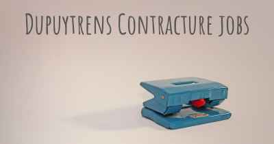 Dupuytrens Contracture jobs