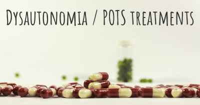 Dysautonomia / POTS treatments