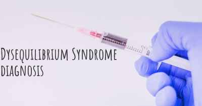 Dysequilibrium Syndrome diagnosis