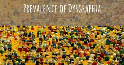 Prevalence of Dysgraphia