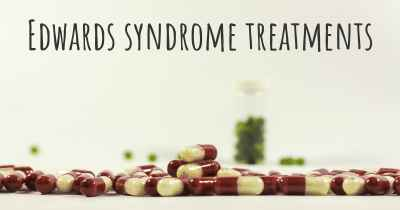Edwards syndrome treatments