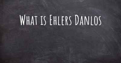What is Ehlers Danlos