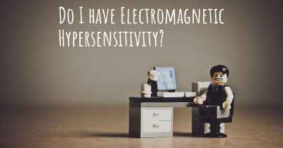 Do I have Electromagnetic Hypersensitivity?