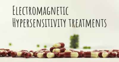 Electromagnetic Hypersensitivity treatments