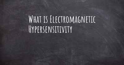 What is Electromagnetic Hypersensitivity