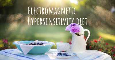 Electromagnetic Hypersensitivity diet