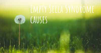 Empty Sella Syndrome causes